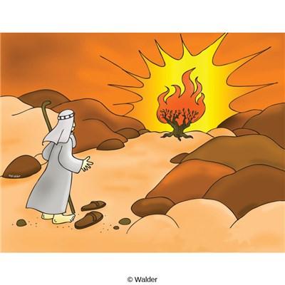 וְהִנֵּה הַסְּנֶה בֹּעֵר בָּאֵשׁ וְהַסְּנֶה אֵינֶנּוּ אֻכָּל