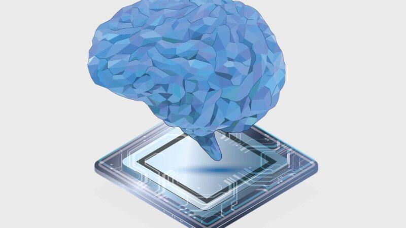 כוחו של המוח האנושי בתוך שבב זיכרון